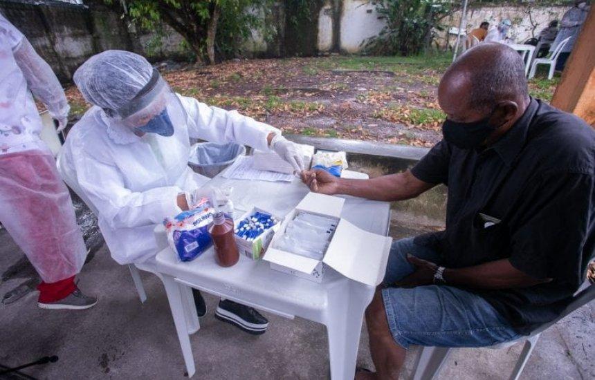 [Ação de testes rápidos e higienização são retomadas em bairros de Camaçari]
