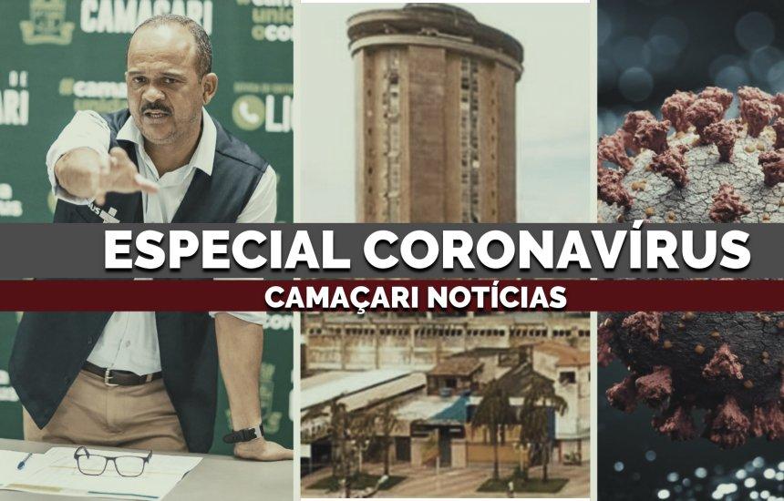 Retrospectiva traz avanço da Covid-19 e ações de enfrentamento em Camaçari