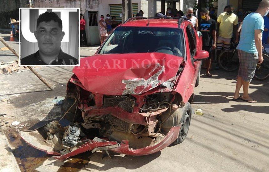 [Líder comunitário de Vila de Abrantes morre em acidente de carro]