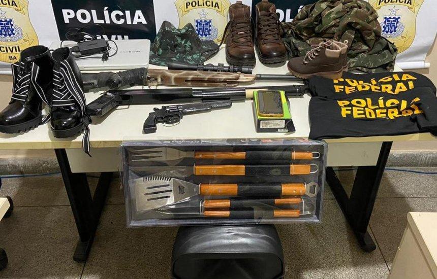 [Suspeito de roubo, falso delegado da Polícia Federal é preso em Paulo Afonso]