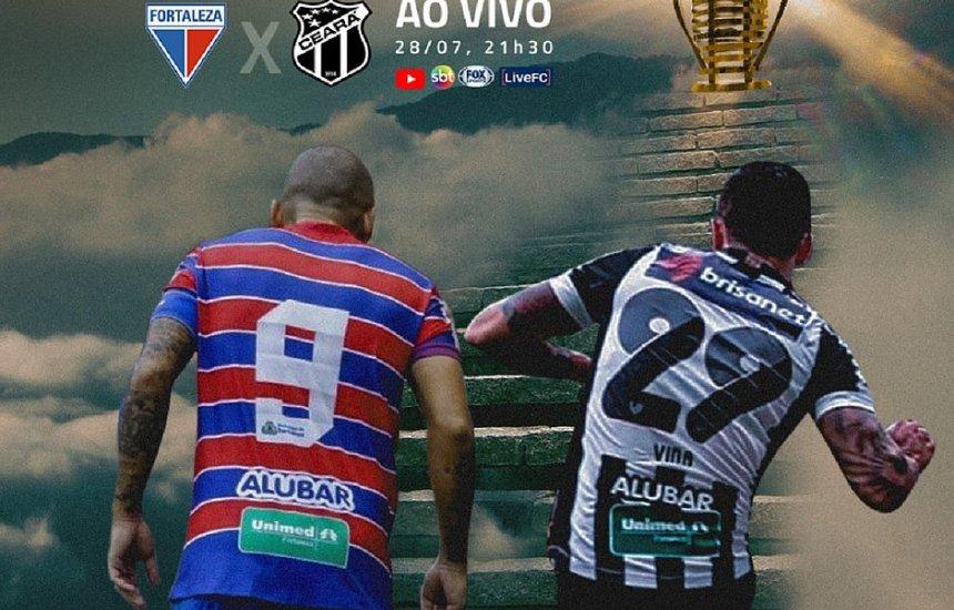 [Em Pituaçu, Fortaleza e Ceará abrem semifinal da Copa do Nordeste]