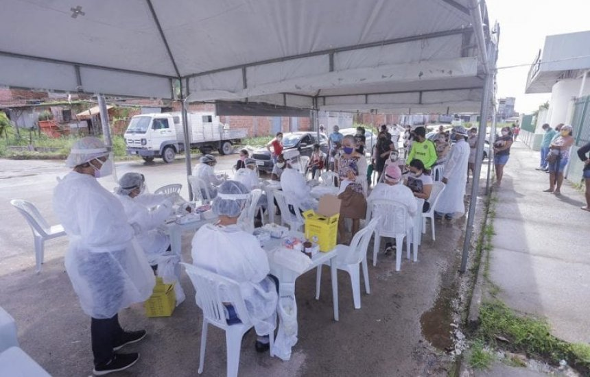 [8ª edição da Ação Integrada de Enfrentamento ao Coronavírus atende moradores do Nova Vitória]