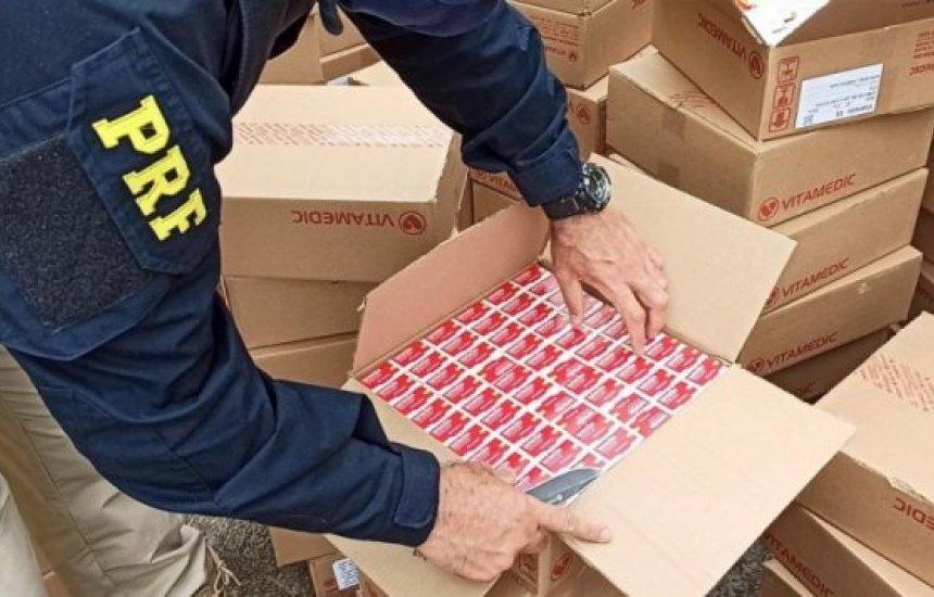 [Bahia: Homens são flagrados pela PRF transportando quase 30 mil comprimidos de Ivermectina]