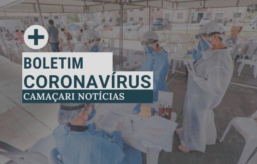 [Número de casos ativos de coronavírus volta a subir em Camaçari]