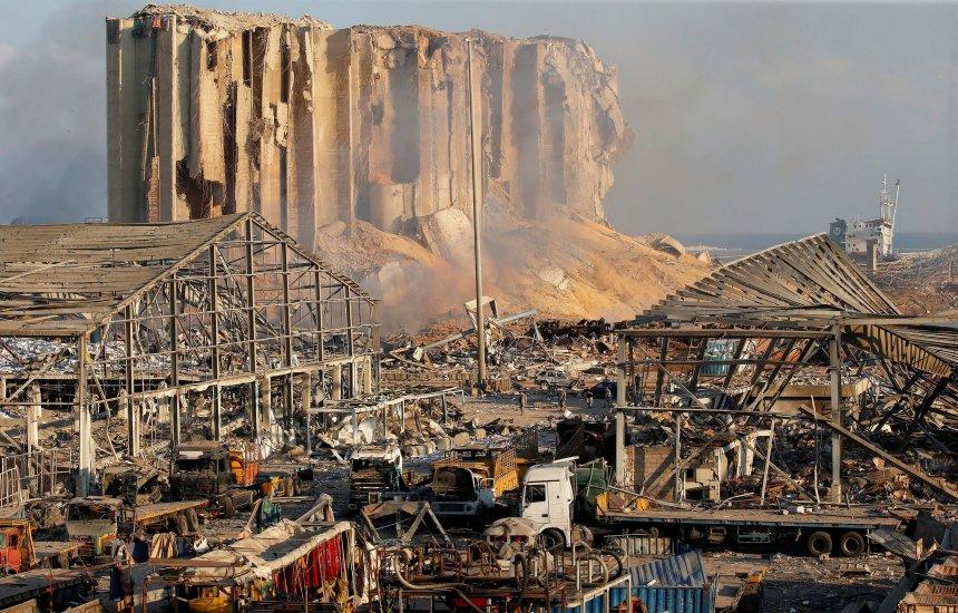 [Carga de nitrato de amônio chegou a Beirute em navio russo em 2013]