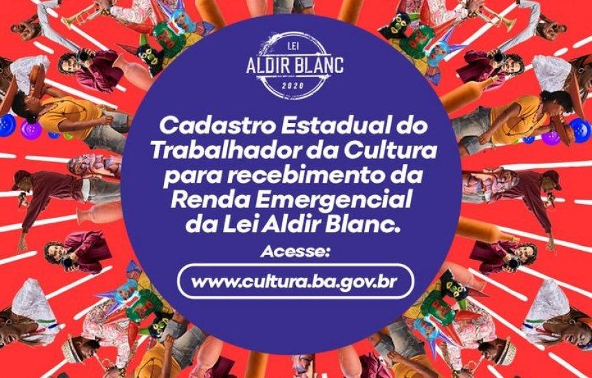 [Governo do Bahia cadastra trabalhadores da Cultura para auxílio da Lei Aldir Blanc]