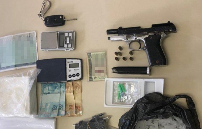 [Rondesp-RMS prende homem com 1kg de cocaína em Camaçari]