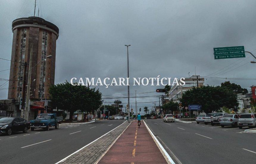 [Semana começa com tempo nublado e chuva isolada em Camaçari, diz Inmet]