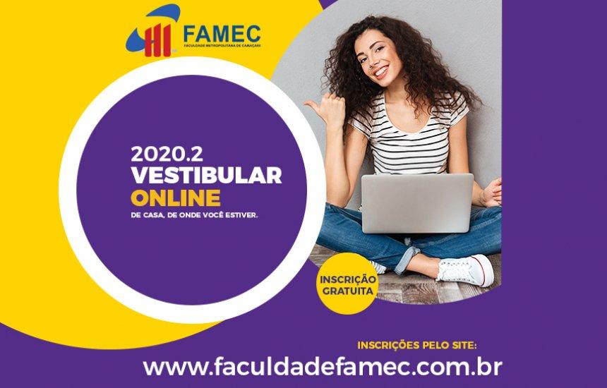 [Vestibular Online FAMEC 2020.2]