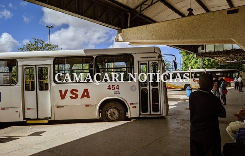 [Rodoviária de Camaçari é reaberta e transporte metropolitano é retomado nesta segunda-feira]