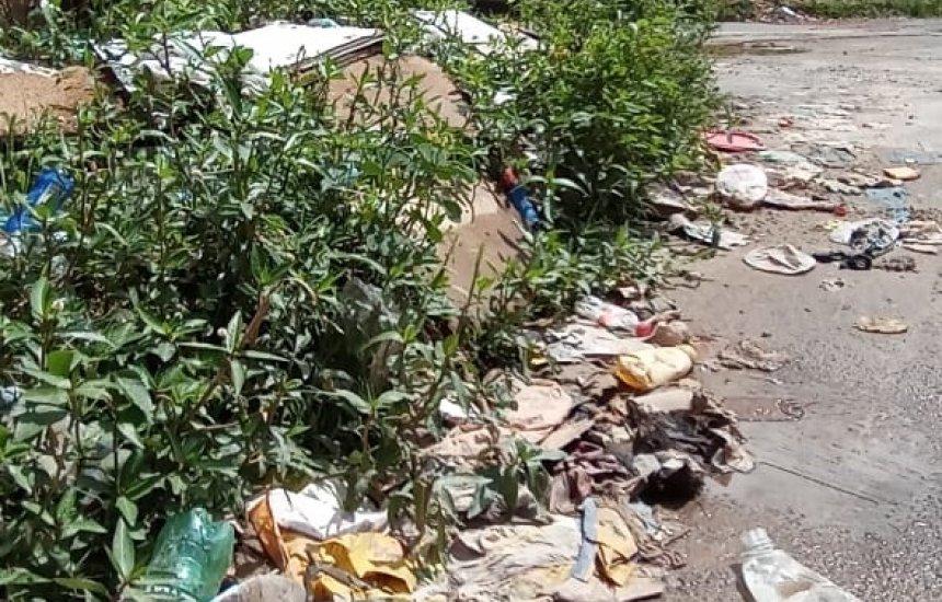 Seu Bairro no CN: morador reclama de sujeira em rua do Verde Horizonte