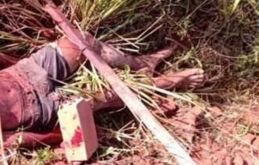 Corpo é encontrado próximo às casinhas no Buri Satuba