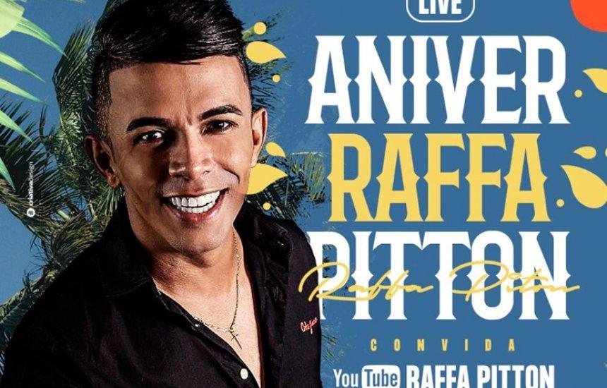 [Em comemoração ao aniversário, Raffa Pitton realiza live solidária]