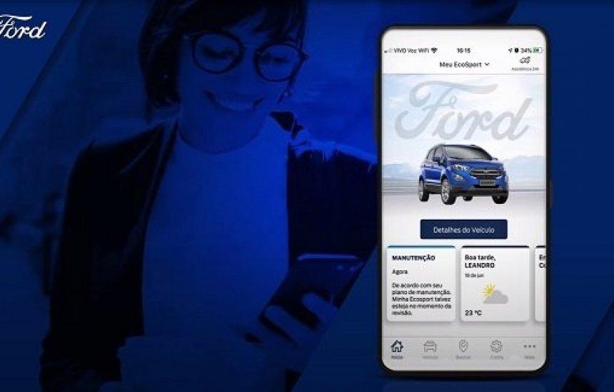 [Ford disponibiliza agendamento para revisão e manutenção de veículo por App]
