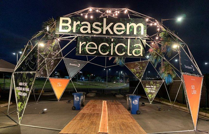[Braskem Recicla vai dar destinação sustentável para cerca de 5 toneladas de resíduos do Big Drive-in do Centro de Convenções]