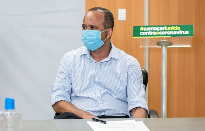 [Prefeito de Camaçari, Elinaldo Araújo, testa positivo para coronavírus]