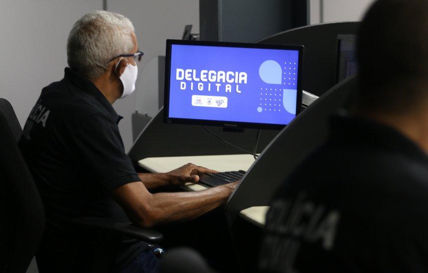 [Nova Delegacia Digital da Polícia Civil contabiliza 14 mil registros em 30 dias]