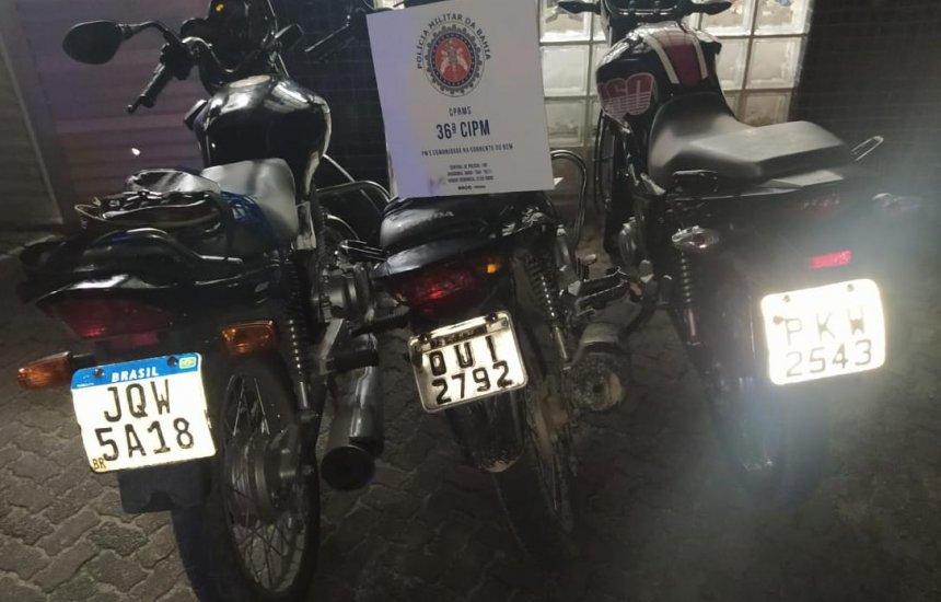 [Trio é preso em desmanche de veículos em Dias d'Ávila; Moto roubada em Camaçari é apreendida]
