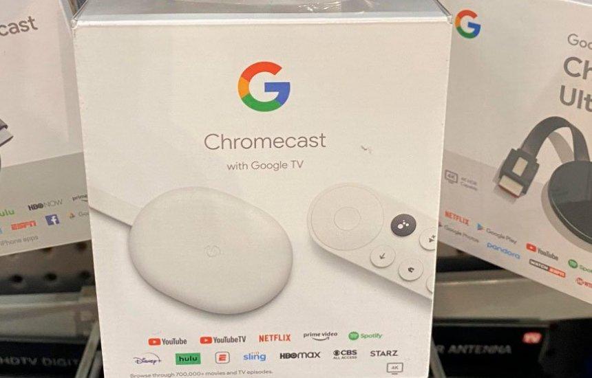 [Novo Chromecast é anunciado com Google TV e controle remoto]