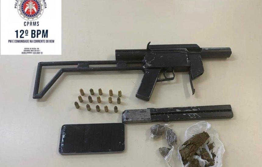 [Polícia apreende armas e prende criminosos em Camaçari]