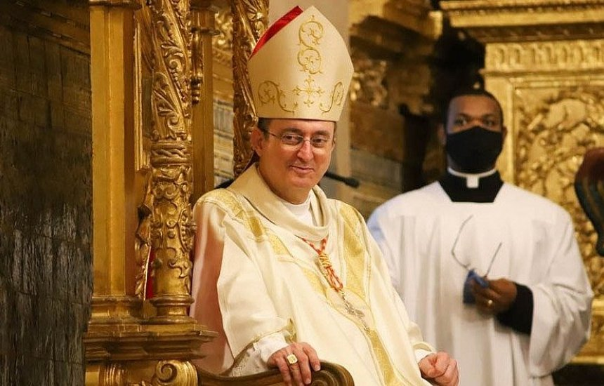 [Dom Sergio da Rocha, Arcebispo de Salvador, celebra os 61 anos]