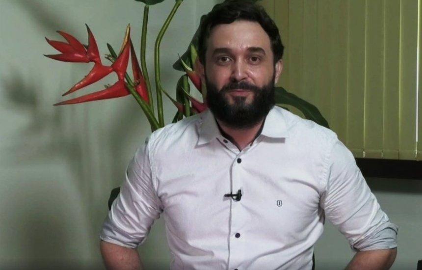 Vídeo: Candidato cai em rio durante gravação de propaganda eleitoral