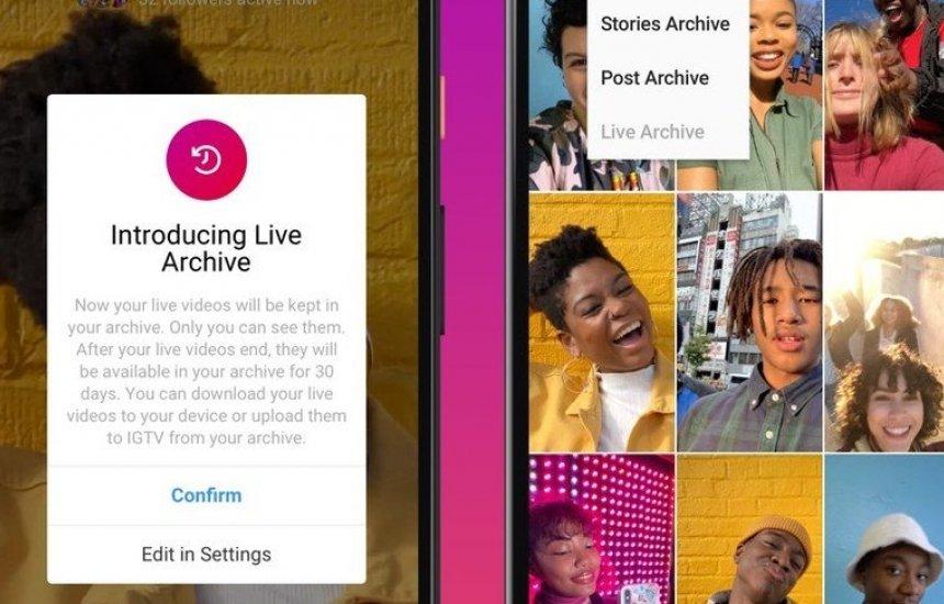 [Instagram libera lives com até quatro horas de duração; veja novidades]