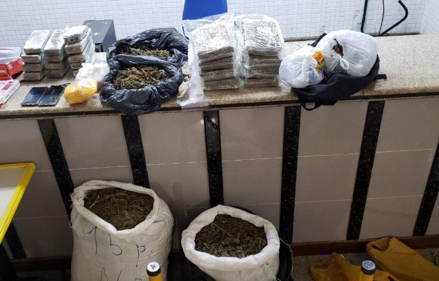 [Operação localiza drogas em Itacimirim e Itinga que seriam vendidas em Salvador]