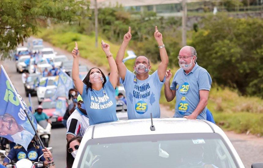 Justiça proíbe realização de carreatas de Elinaldo e Jorge Curvelo