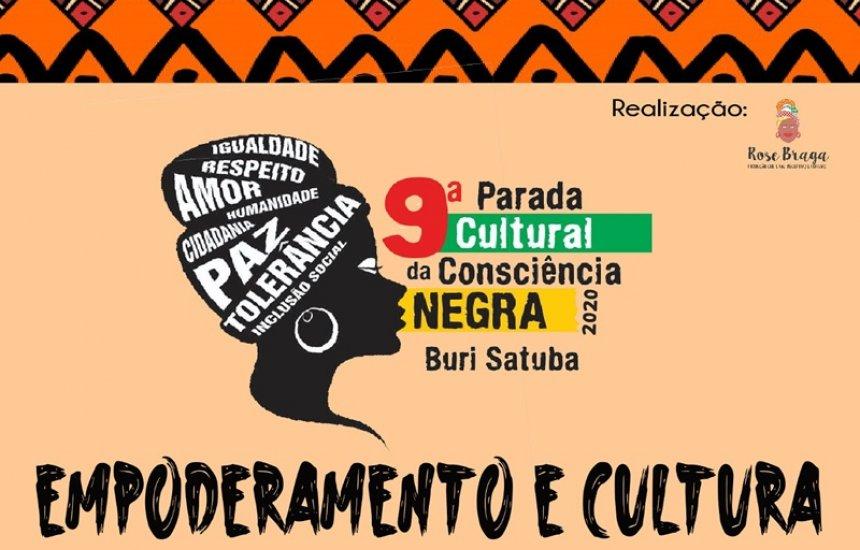 [9ª edição da Parada Cultural da Consciência Negra acontece neste sábado no Buri Satuba]