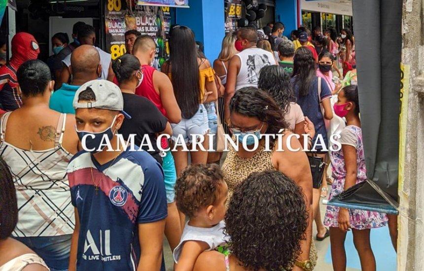 [Black Friday: moradores de Camaçari aproveitam dia de ofertas]