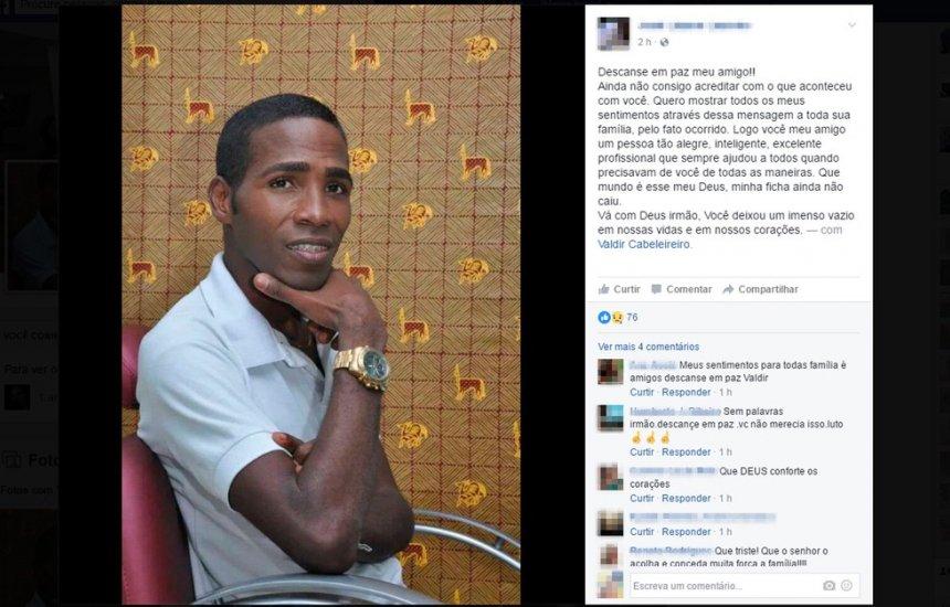 Suspeito de envolvimento na morte de Valdir Cabeleireiro, em 2016, é preso em Itapuã por outro crime