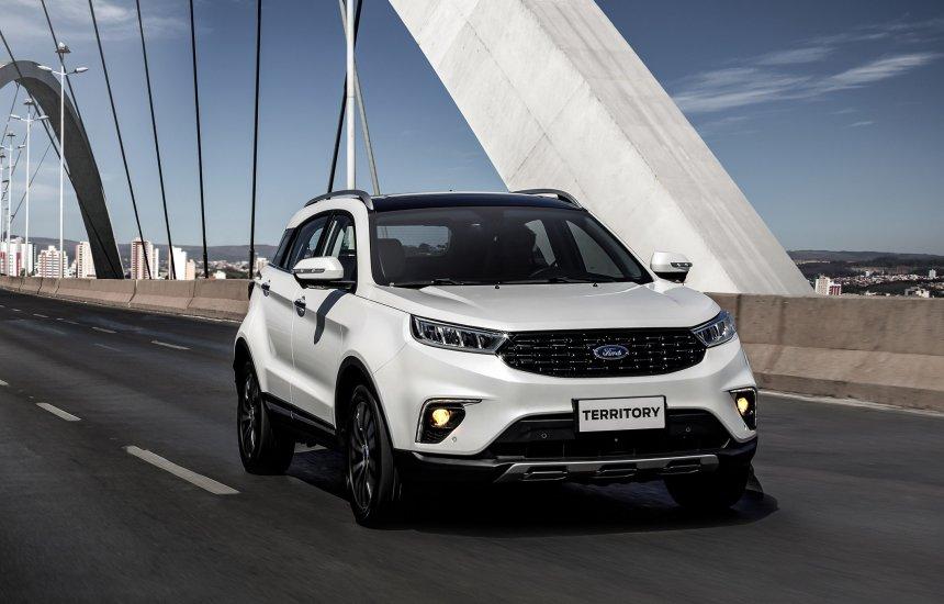 [Ford Territory vence o Prêmio Americar 2021 de melhor carro importado]