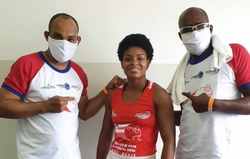 [Atleta baiana é convocada para integrar a Seleção Brasileira de Boxe Olímpico]