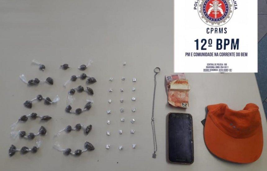 [Polícia prende dois homens por tráfico de drogas no Phoc II]