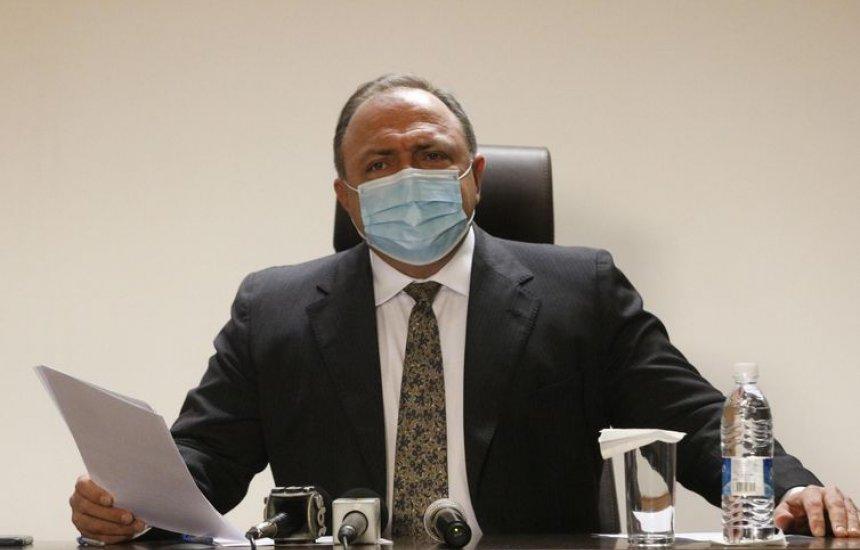[Pazuello diz que vacinação contra a Covid-19 no país começa nesta segunda]