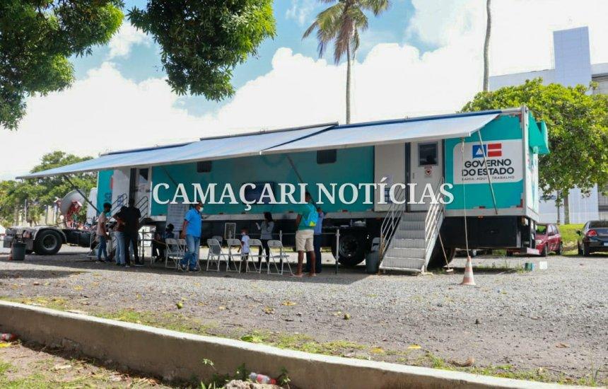 Atendimento do SAC Móvel em Camaçari segue até próxima sexta