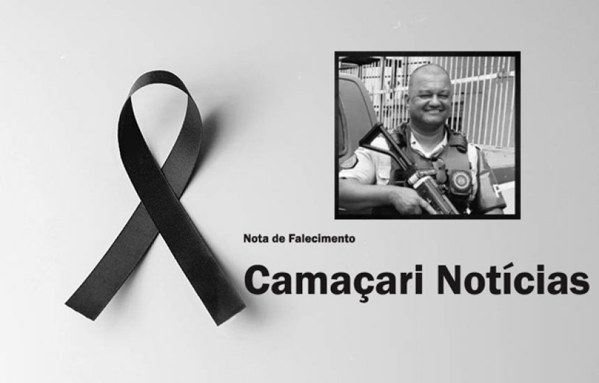 [Aos 49 anos, PM de Camaçari morre após complicações da Covid-19]