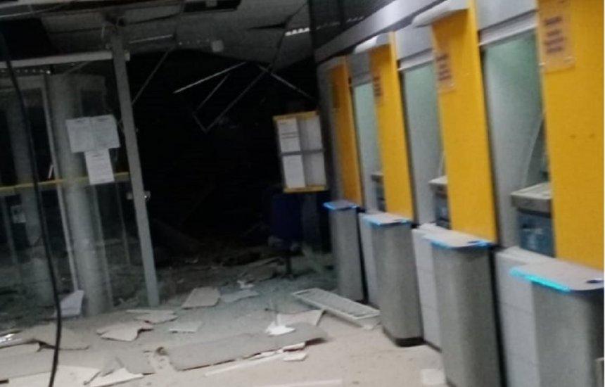 [Bahia: Bandidos explodem três agências bancárias e levam pânico à população de Correntina]