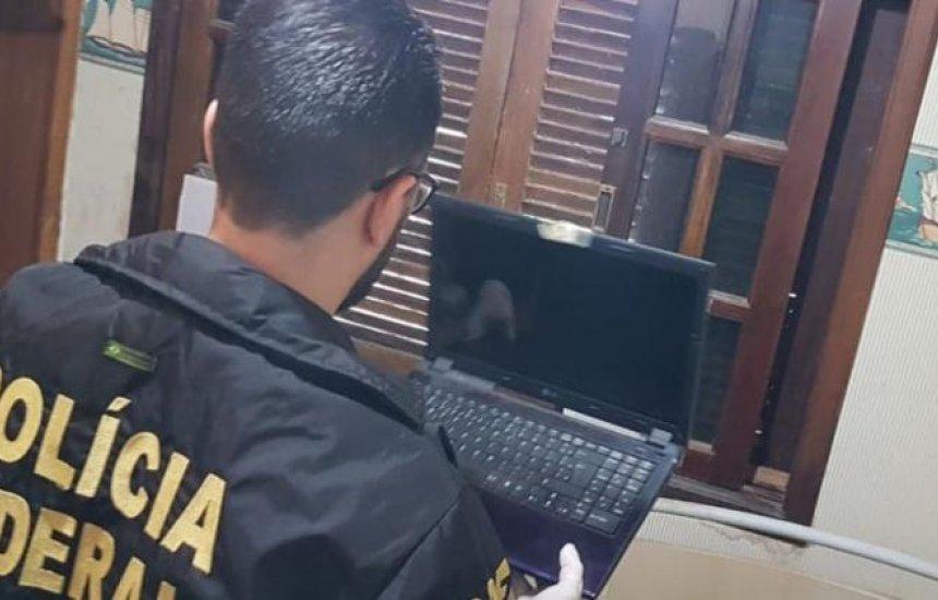 [PF cumpre mandado em Salvador contra acusado de compartilhar conteúdos de pedofilia]
