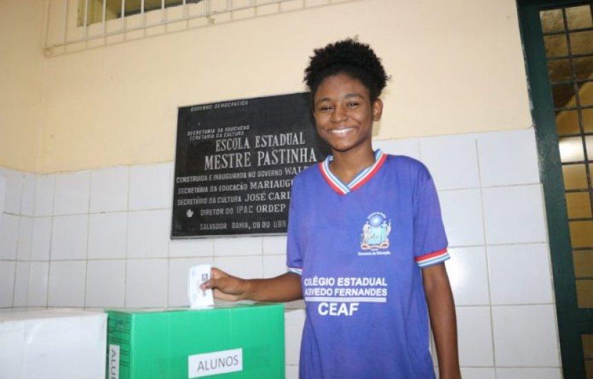 [Eleições para líderes de classe da rede estadual da Bahia começam nesta segunda (10)]