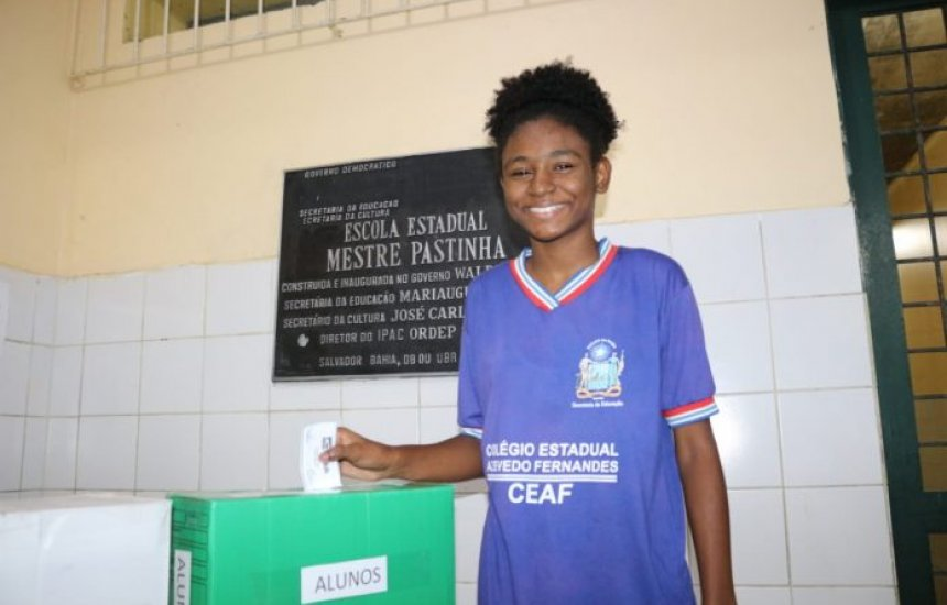 Eleições para líderes de classe da rede estadual da Bahia começam nesta segunda (10)