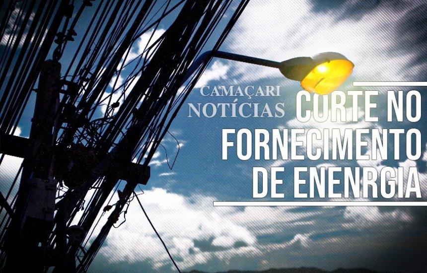 Desligamento programado de energia atingirá ruas de Camaçari; confira