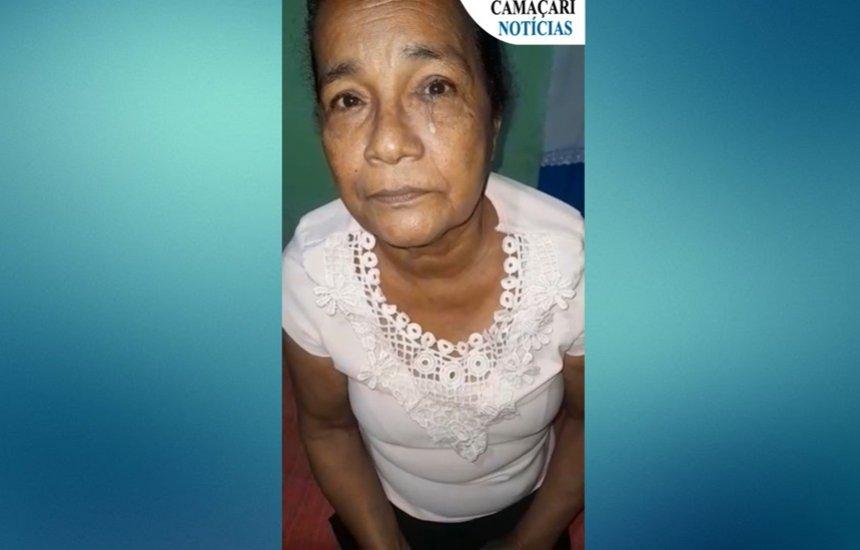 [Com inflamação no canal lacrimal, moradora de Camaçari pede ajuda para realizar cirurgia]